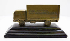Badcock Home Furniture Metal Truck 100 Years 1904-2004 on Wood Base