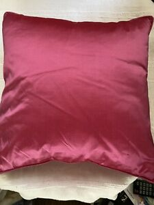 Pink Dupian Silk Cushion (unused)