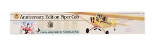 """Carl Goldberg Anniversary Edition KIT-63 RC Piper Cub 76.5"""" Span Unassembled NIB"""