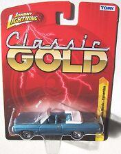 JOHNNY LIGHTNING FOREVER 64 R24 CLASSIC GOLD 1969 IMPALA SS CONV. RR