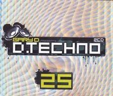 D.TECHNO 25 / GARY D. 3 CD NEU