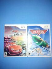 2 Disney video games. Panes & Cars race o Rama (Nintendo Wii, 2013) Complete