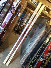 Vintage Rossignol Equipe Suisse race skis 207 cm Gaston Haldemann Bernhard Russi