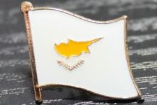 CYPRUS Cypriot Metal Flag Lapel Pin Badge *NEW*