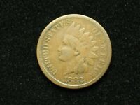 SUMMER SALE!!  1882 INDIAN HEAD CENT PENNY w/PARTIAL LIBERTY *COLLECTIBLE* #12x