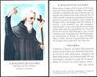 HOLY CARD SANTINO IMAGE PIEUSE - B. BONAVENTURA DA FORLI - dei servi di Maria