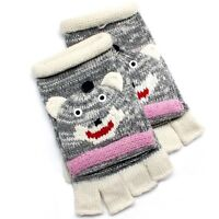 David & Young Critter Animal Gloves - Hand Flip Top Style - MONKEY