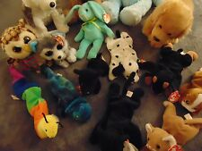 1996 Ty Original Hippity Beanie Babies #4119 w/Other Beanies Lot 1993-2013 Rare