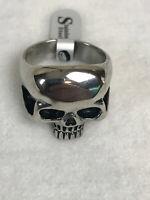 Stahl Men's Biker Skull Ring Stainless Steel Sizes 9-14 NEW
