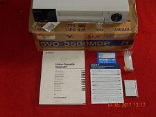 SONY SVO-3500MDP medizinische VCR mit Fernbedienung im OVP&NEU,Ersatz VCR Gerät