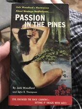 Passion in the Pines by Jack Woodford  Beacon Sleaze Smut Collectible Paperback