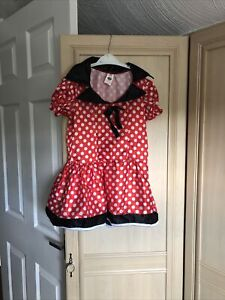 Girls Fancy Dress Minnie Mouse Age 4-6 Yrs By Smiffys