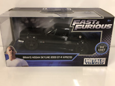 Fast and Furious Brians Nissan Skyline 2000 GT-R 1:32 Scale Jada 99602