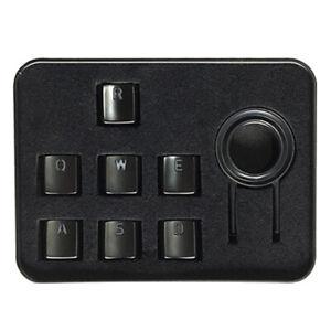 Razer Metallic Keycap Set - High Density Metal Alloy