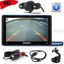 "XGODY 7"" 718 Car GPS Navigation SAT NAVI BT Speedcam 8GB + Wired Backup Camera"
