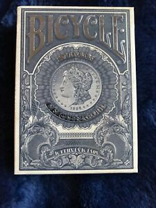 BICYCLE Branded Silver Certificate Playing Cards / Jackson Robinson/ USPCC