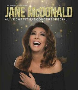 JANE McDONALD A LIVE CHRISTMAS CONCERT SPECIAL DVD *new*