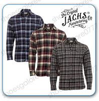 MENS Long Sleeve Warm LUMBERJACK Shirt Soft Cotton Flannel Check Sizes S M L XL