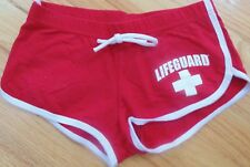 Lifeguard (Maine) Red Shorts, Size 7/8, Pre-Owned, Great Condition