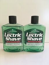 2 Pack - Lectric Shave Pre-Shave Original With Soothing Green Tea 7 oz Each