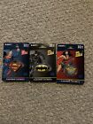 Lot of 3 Emtec 32GB USB Flash Drive Key Chains Batman, Wonder Woman, Superman picture