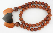 0,02€//St. 200x Holzperlen 8mm Perlen Mix Holz Basteln bunt Schnäppchen NEU