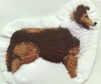 SHELTIE BODY Dog Gorgeous Bathroom Set HAND TOWELS EMBROIDERED Personalized