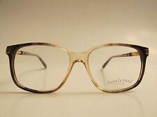 Boulevard Boutique 1106 Rare Vintage Brown Fade Eyeglasses Demo Lenses 54 17 140