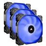 Triple Pack Corsair Air Series AF120 LED (2018) Blue 120mm Case Fan 1400RPM 3pin