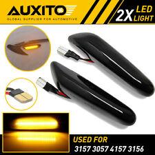 For BMW E90 E82 E87 E88 Sequential LED Side Marker Blinker Turn Signal Light EOA