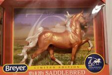 Breyer 70th Anniversary American Saddlebred #1825 NIB Palomino Hamilton ASB