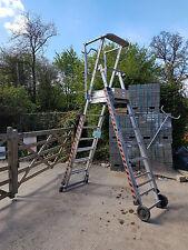 Zarges ladder platform Height adjustable steps Podium scaffold £325+VAT