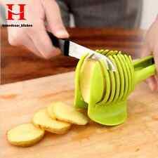 Potato Food Tomato Onion Lemon Vegetable Fruit Slicer Egg Peel Cutter Holder