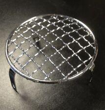 Head light / front lamp grille / stone guard chrome for Lambretta s3 by Cuppini