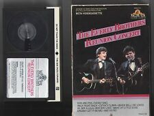 1983 The Everly Brothers Reunion Concert Beta Hi-Fi Stereo Videocassette
