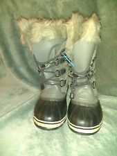 Sorel Grey Women's Boots Size 6 Joan Of Arctic