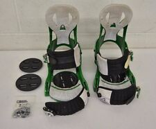 Burton Cartel High-Quality Toe Cup Snowboard Bindings Size Large w/Base Plates