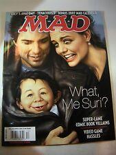 Mad Magazine #472 Unfolded  December 2006 Tom Cruise/Katie Holmes/Suri