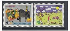 Yugoslavia - 1985 Childrens Paintings set - MNH - SG 2240/1