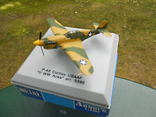 ARMOUR COLLECTION 1/100 AVION P-40 CURTIS USAAF II-WW-Aces MINT IN BOX