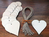 Wooden Love Hearts Wedding Place Names Embellishments Blank Large Shapes Craft