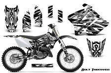 SUZUKI RM 125 250 Graphics Kit 2001-2009 CREATORX DECALS BTWB