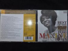 CD MAXINE BROWN / BEST OF THE WAND YEARS /