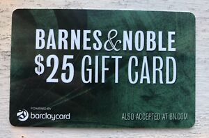 $25 Barnes and Noble Gift Card