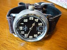 1930s GERMAN luftwaffe  flieger HELVETIA PROPELLER DIAL pilots military watch