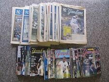 Yankees Magazine. COMPLETE SET 1980 (volume 1, #1) -2007. 346 Issues 1/1?