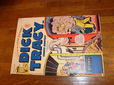 "Dick Tracy #34, Harvey Comic, ""Vg+"", Violent Cover"