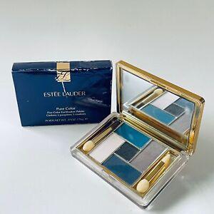 ESTEE LAUDER Pure Color Five Color EyeShadow Palette #01 BLUE DAHLIA Pls Read