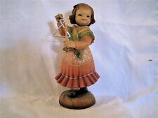 "Anri Juan Ferrandiz ""Tiny Sounds"" 6"" Wood Carved Nib #652004 Kh"