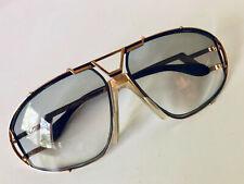 Vintage Cazal Mod.907 Col. 378 Black/Gold Eyeglasses/Sunglasses (frame only)
